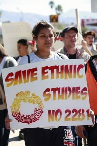 Protester - ethnic studies